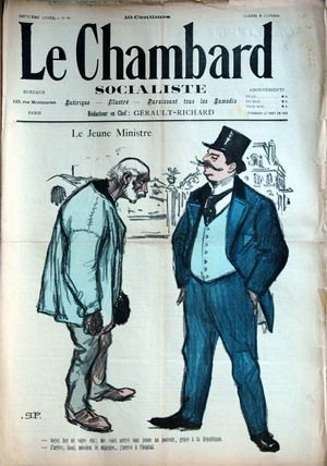 Le Jeune Ministre (Jun. 9, 1894) (Issue 26)