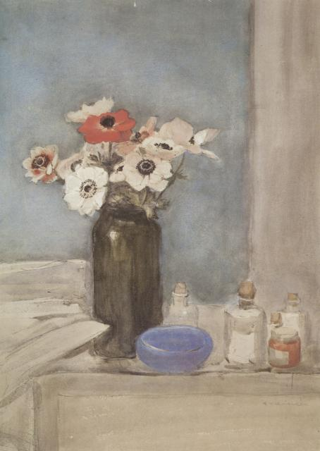 Still Life With Anemones (c. 1910)