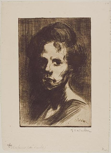 Tete de Femme (1898) (C 11) (Collection of the Art Institute of Chicago)