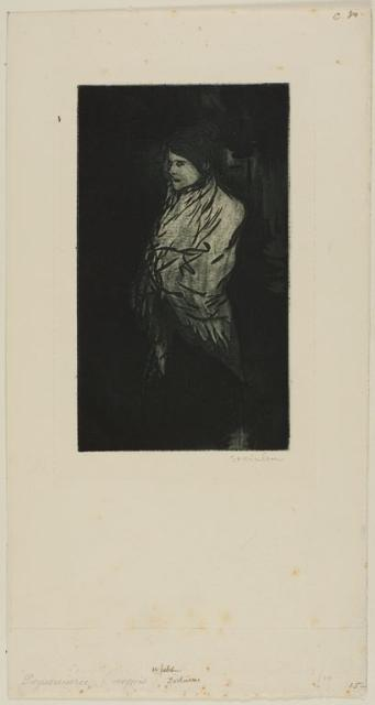Petit Nocturne (1898, printed 1902)(C 30) (Collection of the Art Institute of Chicago)