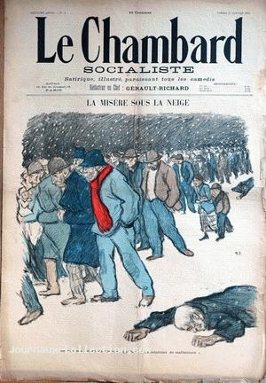 La Misere Sous La Neige (Jan. 13, 1894) (Issue 5)