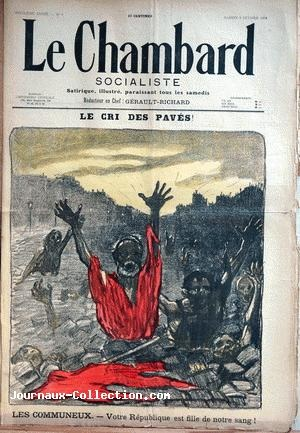 Le Cri des Paves (Feb. 3, 1894) (Issue 8)