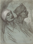 Study for Vente de Charite (Collection of the National Gallery of Art)
