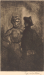 Rencontre (1902) (C 57) (Collection of the National Gallery of Art)