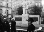 Dedication of Steinlen monument (Nov. 22, 1936)
