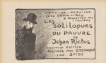Ad for revised edition of Les Soliloques du Pauvre (1903)(C 624) (Appeared in Issue 19 of Le Canard Sauvage, Jul. 26, 1903)