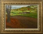 Paysage de Norvege (Aponem auction, Mar. 29, 2014)