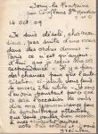 Steinlen letter, Oct. 14, 1909, authorizing photography of Steinlen works (Ader auction, Dec. 4, 2014)