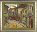 Rue Norvins, Montmartre (Private collection, U.S.)